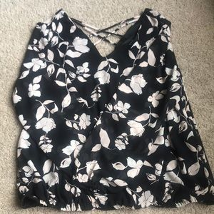 ⭐️NWOT⭐️ baby pink floral blouse